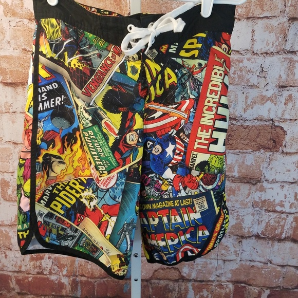 520318633e Marvel Swim | Avengers Board Shorts Trunks Sz S Thor | Poshmark